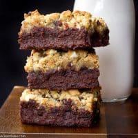 Brookies (Brownie-Cookie Hybrid Bars)