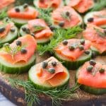 Smoked Salmon Bites (gluten free, grain free, paleo friendly, dairy free, egg free, low carb)