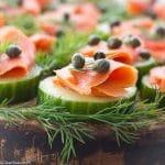 Smoked Salmon Bites (gluten free, grain free, paleo friendly, dairy free, egg free, low carb)
