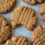 5-Ingredient Peanut Butter Cookies (Or, Use Any Nut/Seed Butter You Want!)