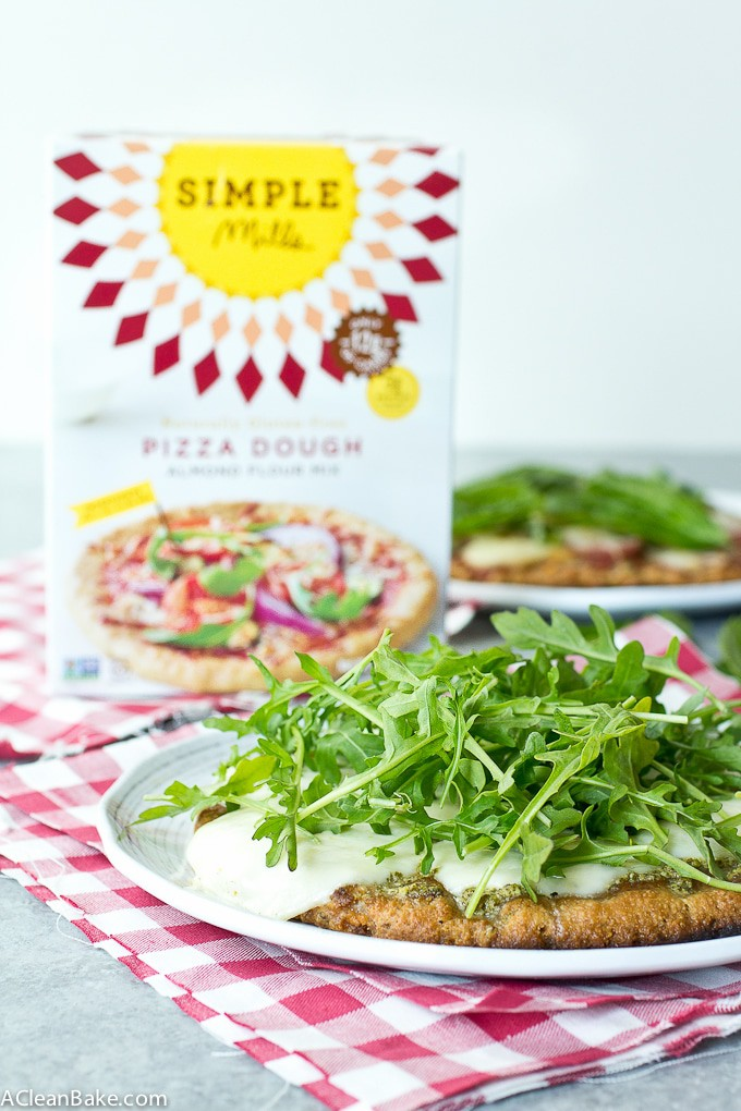 Grain Free Grilled Pizzas ( gluten free, low carb and paleo)