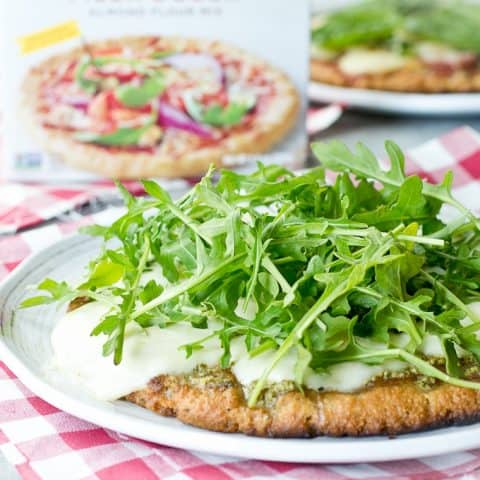 Grain Free Grilled Pizza (with Simple Mills)