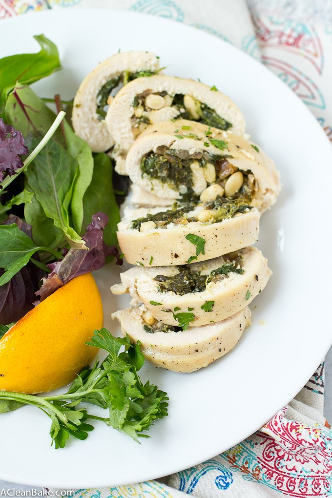 A little something different: Chicken Roulades - they're easier than they look! (gluten free, grain free, dairy free and low carb)