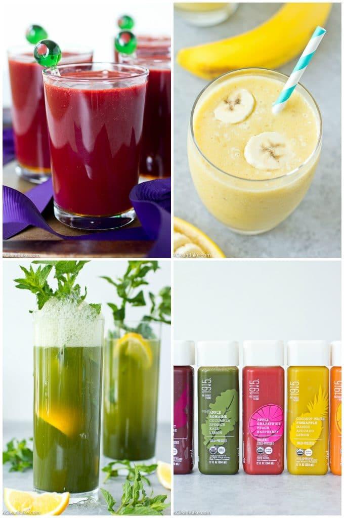 3-Ingredient Healthy Mocktails, three ways (Gluten free, paleo, vegan, dairy free, egg free)