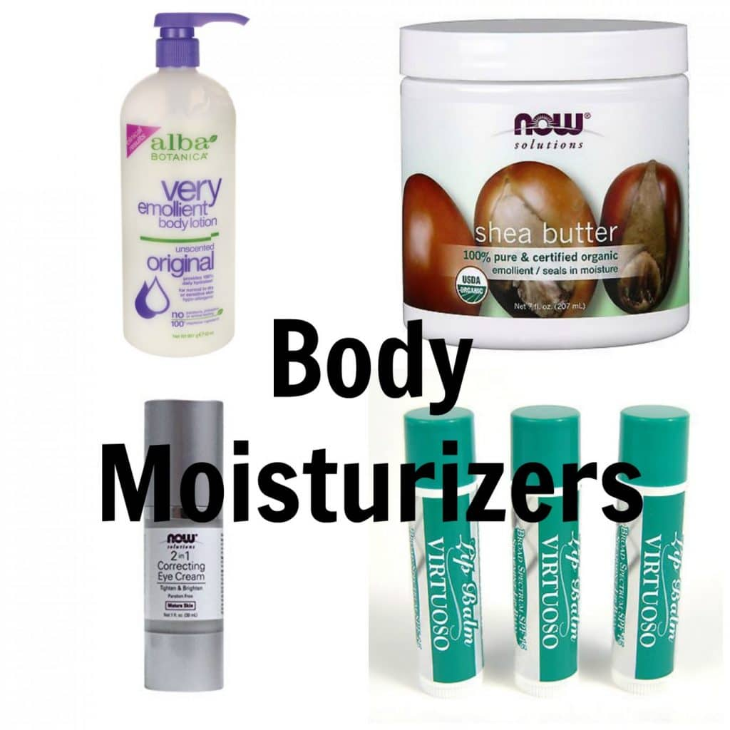 Non-toxic Skin Care Products (and tips for making an easier transition): Body Moisturizers