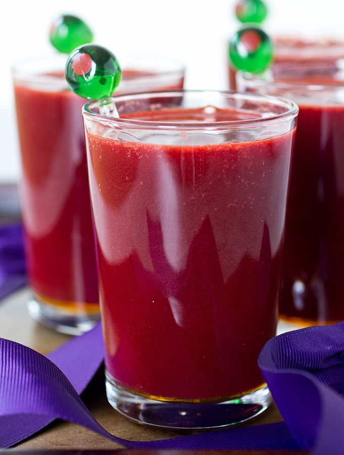 Purple Probiotic Mocktail, plus two other health mocktails with only three ingredients (Gluten free, paleo, vegan, dairy free, egg free)