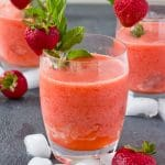 Frozen Strawberry Lemonade (Sugar Free)