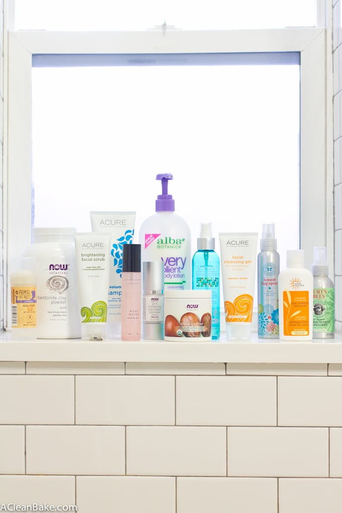 Non-toxic Skin Care Products (and tips for making an easier transition)