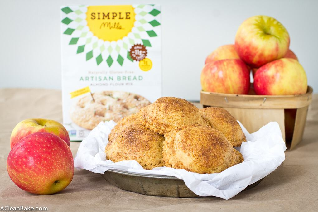 Gluten free and paleo apple hand pies