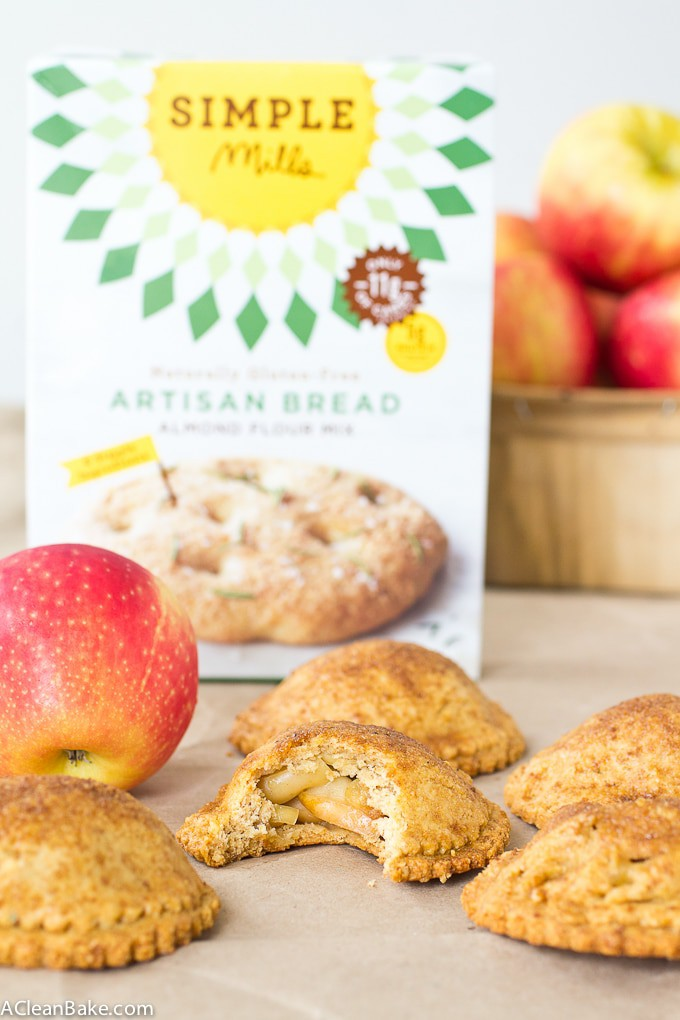 Gluten free and paleo apple hand pies