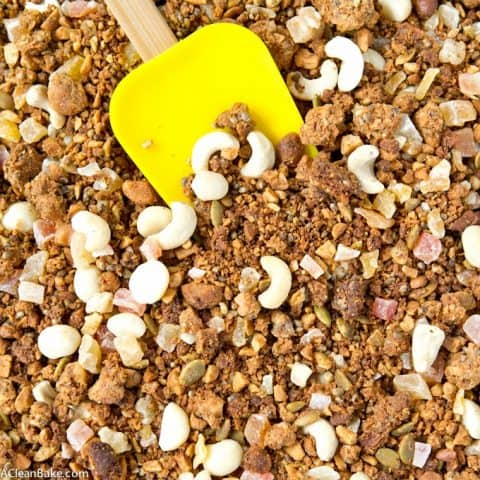 Tropical Hempseed Granola (Grain Free, Gluten Free, Lower Carb)