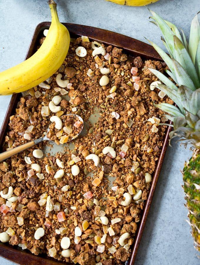 Tropical Hempseed Granola (Grain Free aka Paleola)