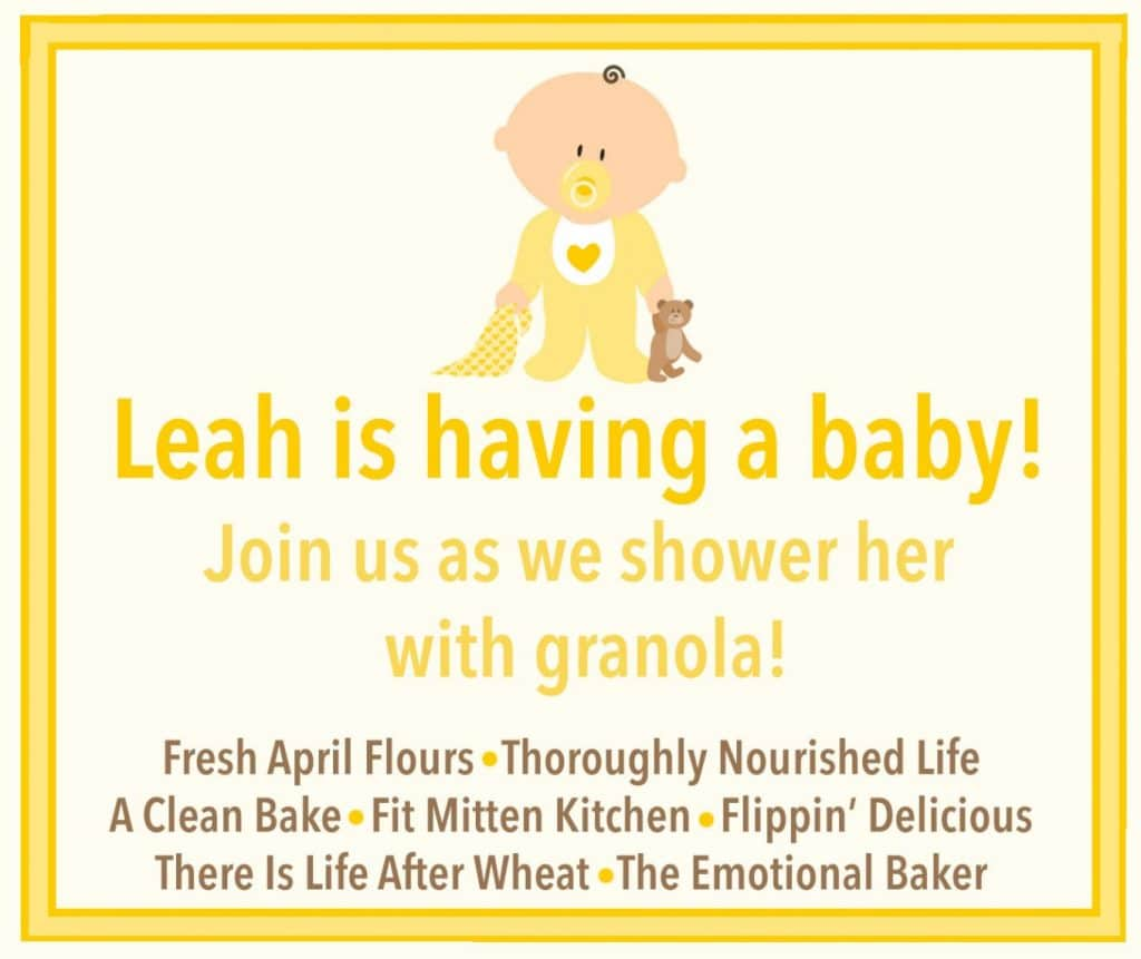 Tropical Hempseed Granola + a Virtual Baby Shower for Leah (grainchanger.com)
