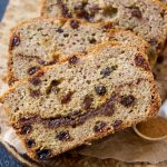 Grain Free Cinnamon Raisin Swirl Bread (Yeast Free, too)