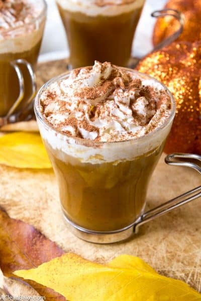 Sugar Free Pumpkin Spice Latte (Gluten Free, Paleo, and Vegan)