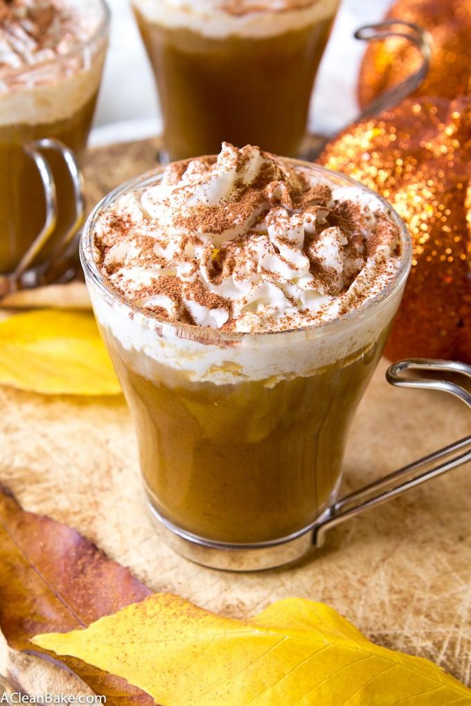 Sugar Free Pumpkin Spice Latte (gluten free, vegan and paleo too)