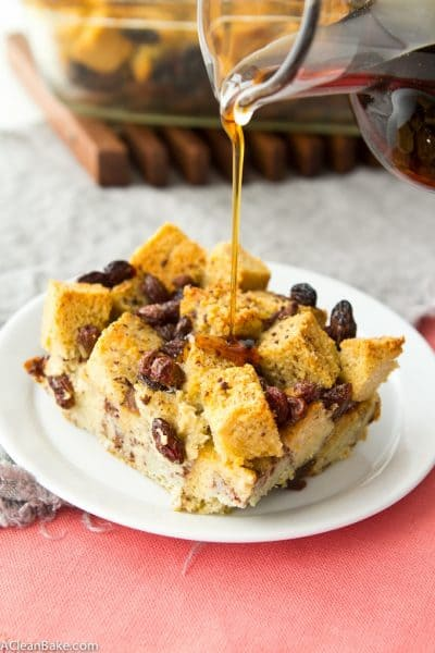 Gluten Free and Paleo French Toast Casserole