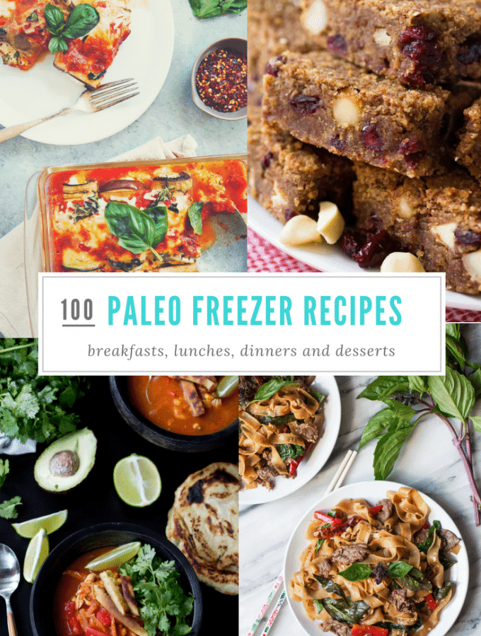 100 Paleo-Friendly Make Ahead Freezer Meals