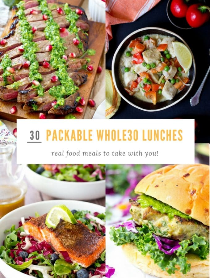 30 Packable Whole30 Lunches