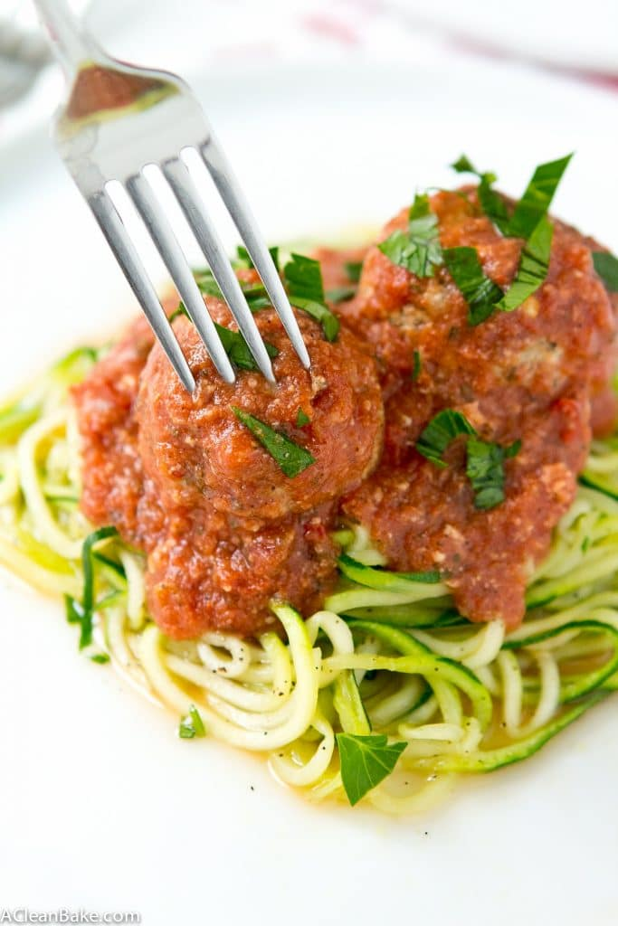 Slow Cooker Meatballs (Gluten free, Paleo and Dairy Free)