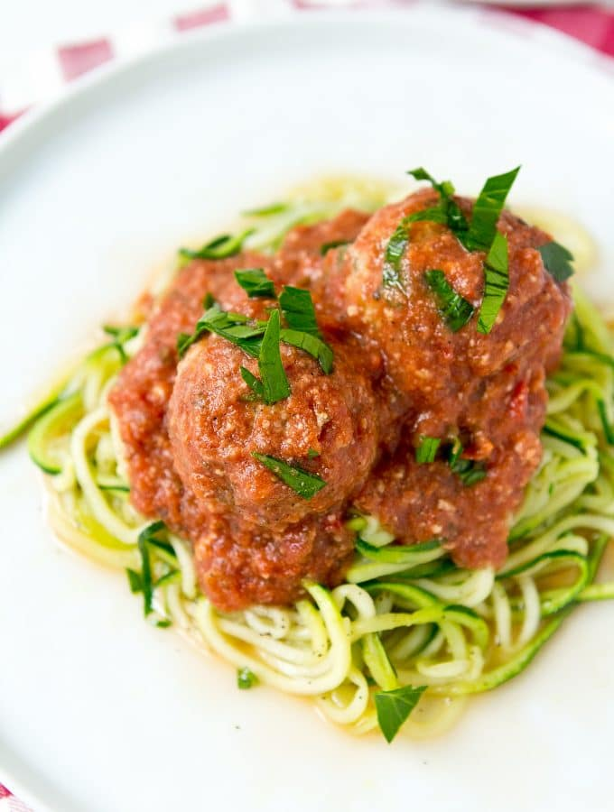 Slow Cooker Turkey Meatballs (Gluten Free, Paleo, and Whole30)