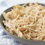 Slow Cooker Shredded Chicken (Gluten free, paleo and low carb)