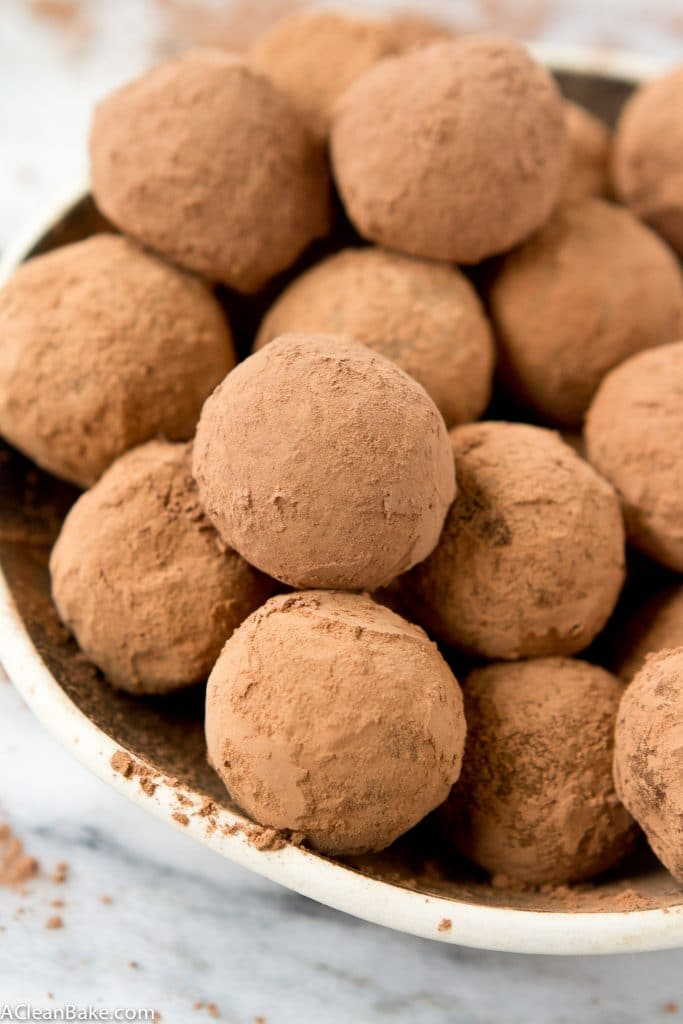 Dark Chocolate Truffles (Gluten Free, Dairy Free, Low Carb, Vegan)