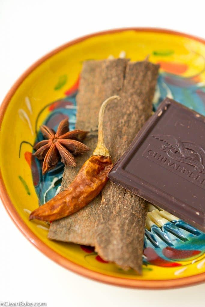 Sugar Free Mexican Drinking Chocolate (gluten free, vegan, paleo, low carb)