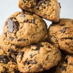 Paleo-Vegan-Chocolate-Chip-Cookies