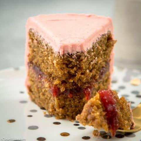 Paleo Vanilla Layer Cake