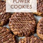 4 Ingredient Power Cookies #glutenfree #glutenfreerecipes #glutenfreecookies #glutenfreedesserts #healthyrecipes #healthy #healthydesserts #healthycookies #wholegrain #wholegrainrecipes #wholegrainedesserts