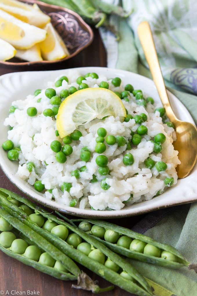 Green-Pea-Lemon-Risotto-Dairy-Free-Alcohol-Free