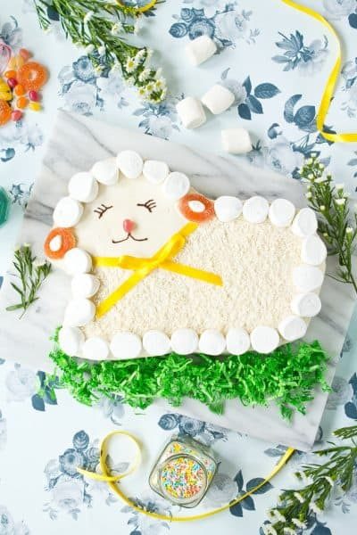Paleo-Lamb-Cake-For-Easter