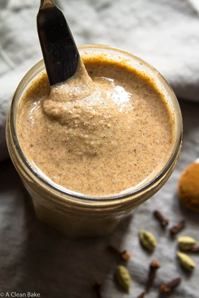 Chai-Spice-Almond-Butter-sugar-free-vegan-paleo