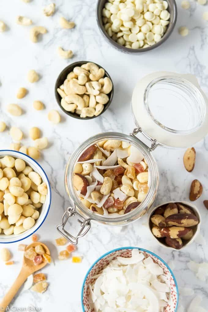 Trail-Mix-With-Coconut-White-Chocolate-Dried-Fruit