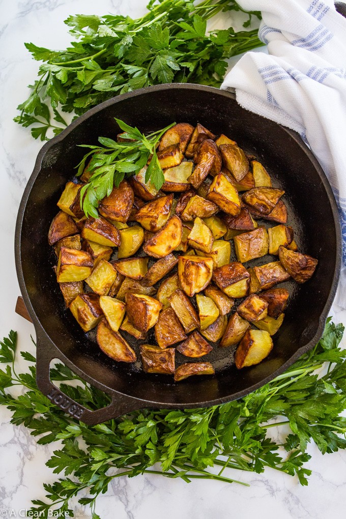Perfect Roasted Potatoes (gluten free, vegan, paleo)-1