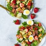 Strawberry Cobb Salad (+ Free Bacon!) (No, Seriously.)