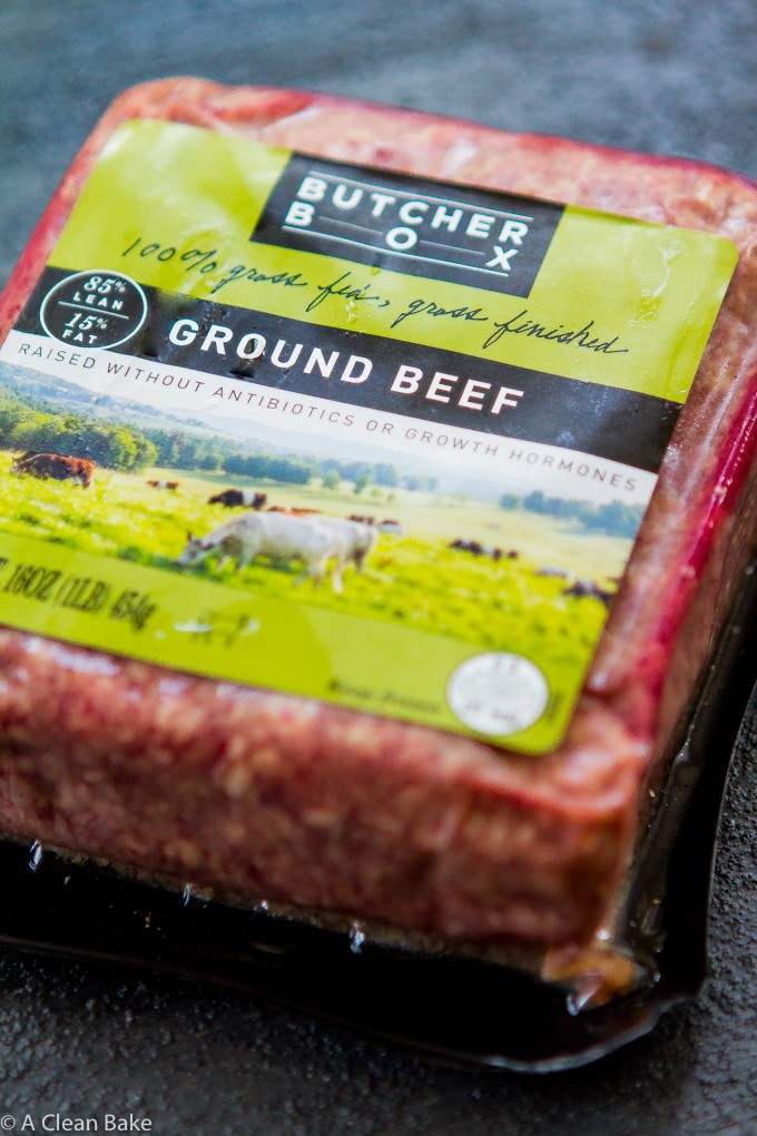 Grassfed Ground Beef for Jalapeno Burgers