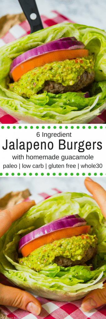 Jalapeno Burgers (gluten free, paleo, low carb and whole30)