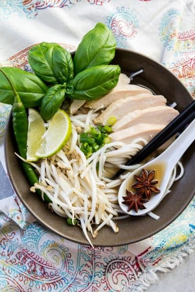 30-Minute Pho Vietnamese Soup (naturally gluten free)