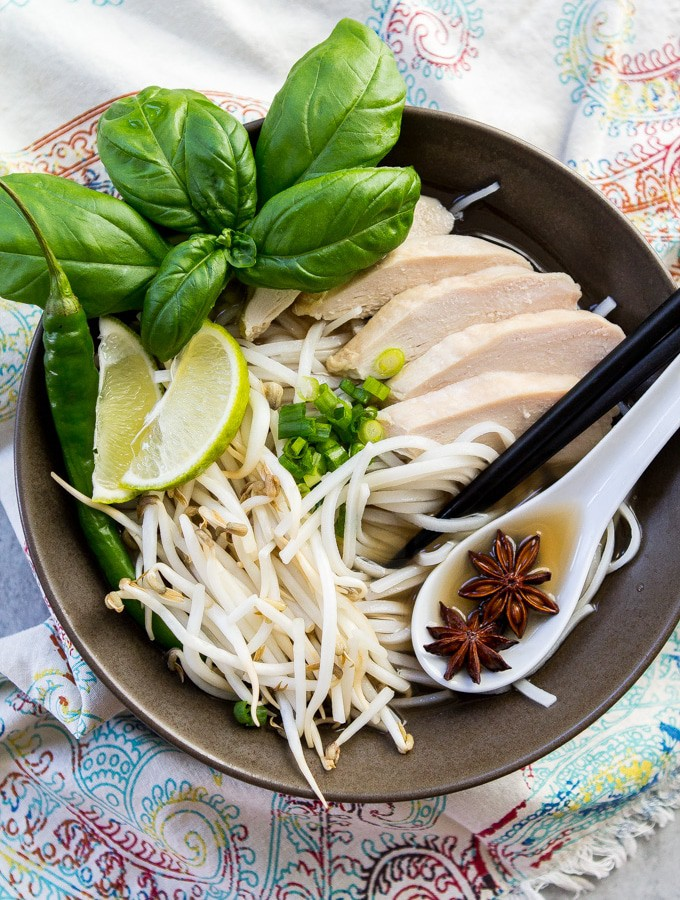 30 Minute Pho (Gluten Free, an Adaptable for Whole30 and Paleo/Low-Carb)