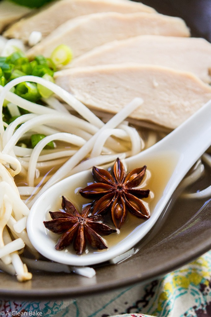 30 Minute Pho Vietnamese Soup (naturally gluten free)