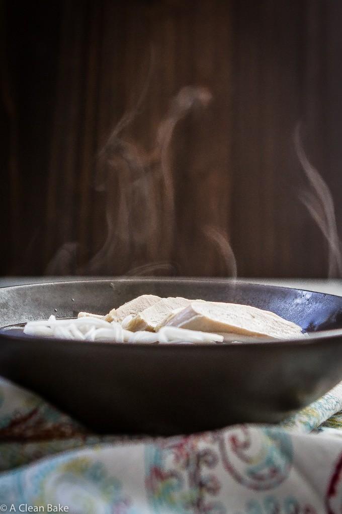 30 Minute Pho Vietnamese Soup (naturally gluten free)