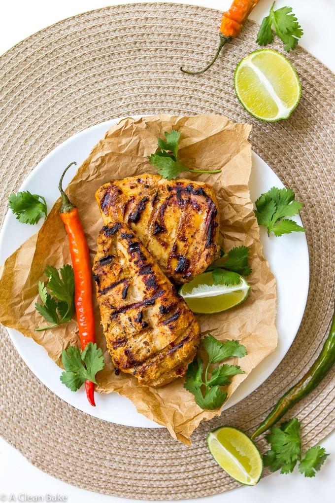 Clean Tandoori Chicken (Paleo, Gluten Free, Clean Eating)-1