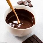 Paleo Chocolate Ganache (gluten free, dairy free, low carb)-12
