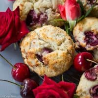 Grain Free Cherry Scones