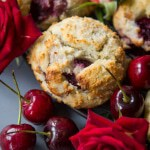 Grain Free Cherry Scones (Sugar free!)