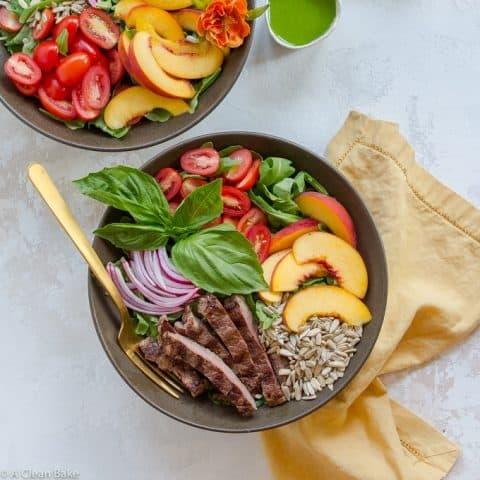 Paleo Steak Salad (gluten free, dairy free, low carb)-8