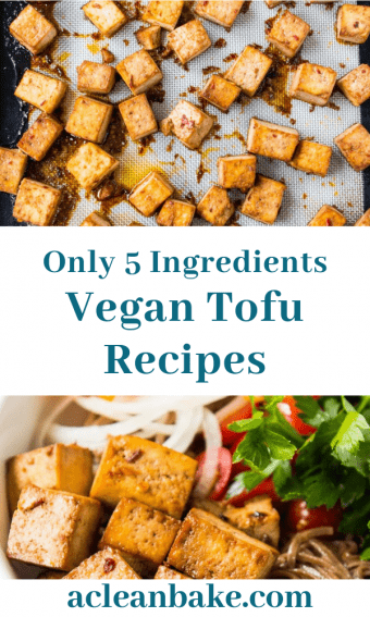 Baked Tofu (5 Ingredients Needed!) + Weeknight Tofu Recipes