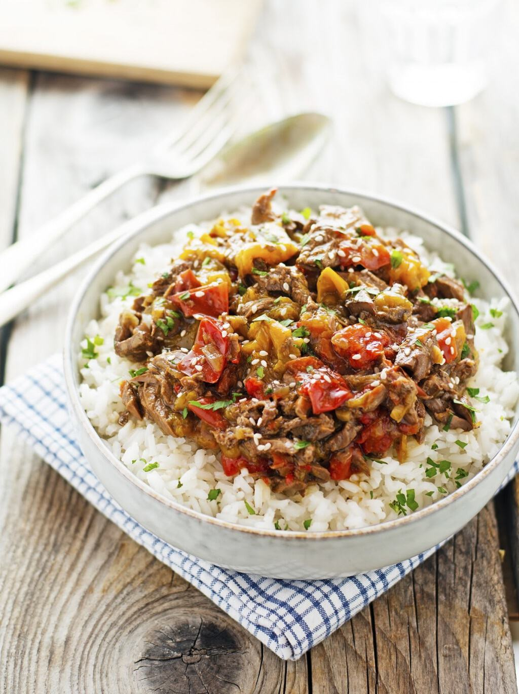 Healthy Paleo Slow Cooker Dinners - Pepper Steak